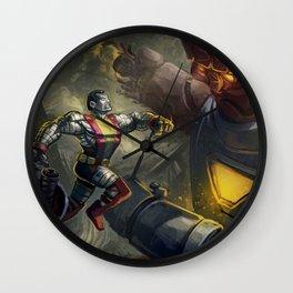 X-men fanart - Colossus! Wall Clock
