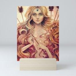 Zodiac Stagittarius Mini Art Print