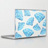 diamond Laptop & iPad Skins featuring diamond by Ceren Aksu Dikenci