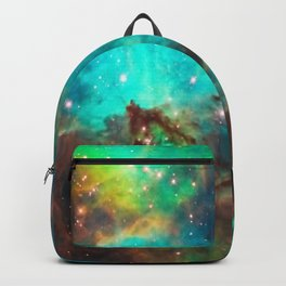Galaxy / Seahorse / Large Magellanic Cloud / Tarantula Nebula / Space / Universe / Backpack