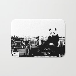 Giant Panda Invades Toa Payoh. Bath Mat