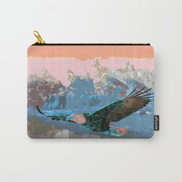 Triangle Eagle Carry-All Pouch