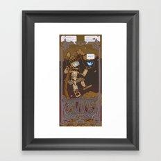 Avius Tritewit Framed Art Print