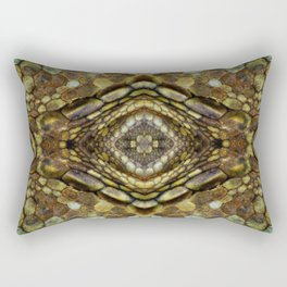 Alligator Rock Rectangular Pillow