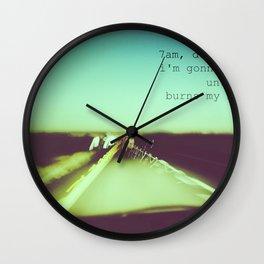 M83 7AM Drive Wall Clock