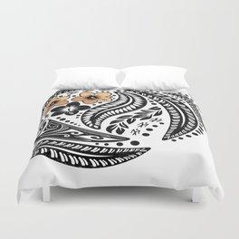 Polynesian Tribal Duvet Cover