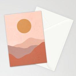 Boho Earthy Landscape  Stationery Cards