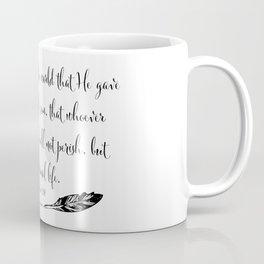For God So Loved The World Coffee Mug