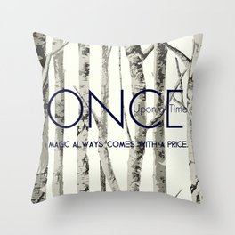 Once Upon a Time (OUAT) Throw Pillow