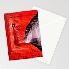 Through the Gates (Kyoto, Japan) Stationery Cards
