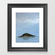 Island in the Mist Framed Art Print