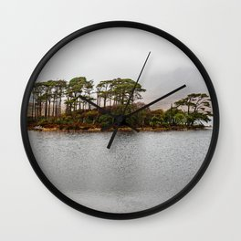 misty ireland Wall Clock
