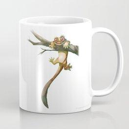Gecko Correlophus Ciliatus Coffee Mug