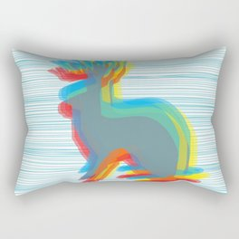 Jackalope Rectangular Pillow