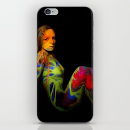 Paint Me Nude iPhone Skin