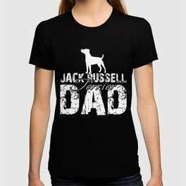 Jack Russell Terrier Dad Funny Gift Shirt T-shirt