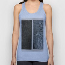 before wood after Unisex Tank Top