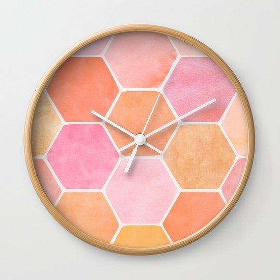Desert Mood Hexagon Print by kristiangallagher