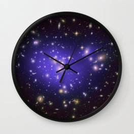Hubble Space Telescope - Mass map of Abell 1689 Wall Clock