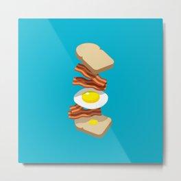 Bacon Sandwich Metal Print