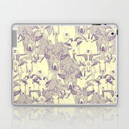 just goats purple cream Laptop & iPad Skin