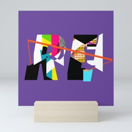 Reinterpretation (collage) Mini Art Print