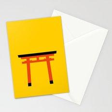Torii (鳥居) (eastern portal) Stationery Cards