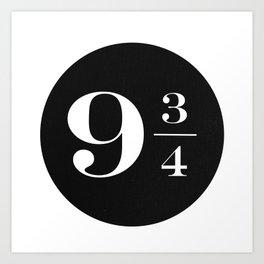 Platform 9 3/4 Art Print
