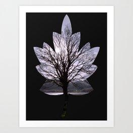 Leaf Tree Art Print