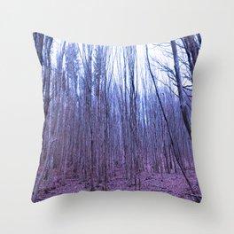 Trees of Olympus Throw Pillow