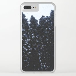 Cold Storm Clear iPhone Case