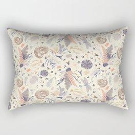 Docile Fossil Rectangular Pillow