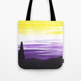 Non Binary Sky Tote Bag