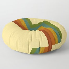 Shakuru - Classic Retro Summer Style Stripes Floor Pillow