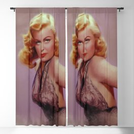 Cleo Moore, Vintage Actress Blackout Curtain