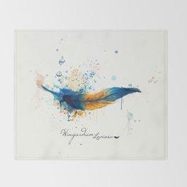 Wingardium Leviosa Throw Blanket