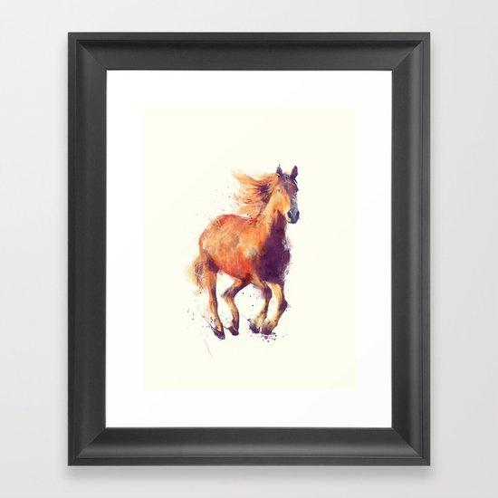 Horse // Boundless Framed Art Print