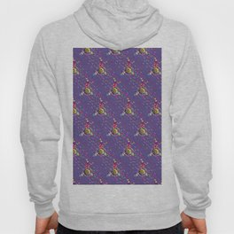 Colorful ornaments with feathers Hoody