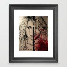 lucy's dead Framed Art Print