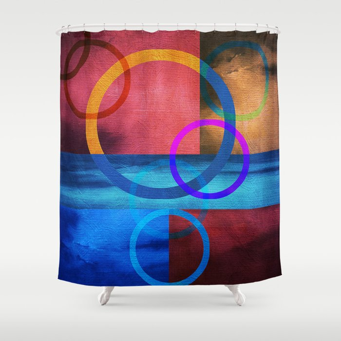 Textures/Abstract 91 Shower Curtain