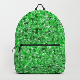 Green Four-Leaf Clovers Backpack