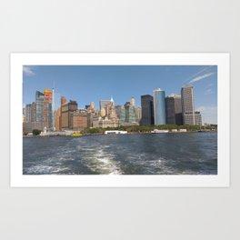 Skyline of NewYork Art Print