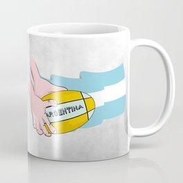 Argentina Rugby Coffee Mug