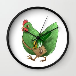 Poupoule Wall Clock