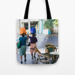 women in berlin Tote Bag