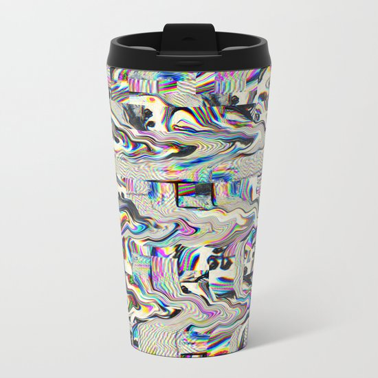 We Live Metal Travel Mug