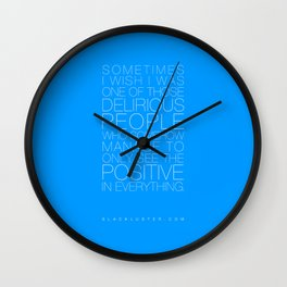 Delirious Wall Clock