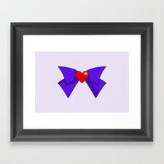 Super Sailor Mars Framed Art Print