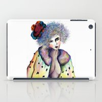 cara iPad Cases featuring Cara by Jessis Kunstpunkt.