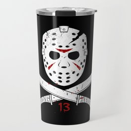 Jason mask Travel Mug